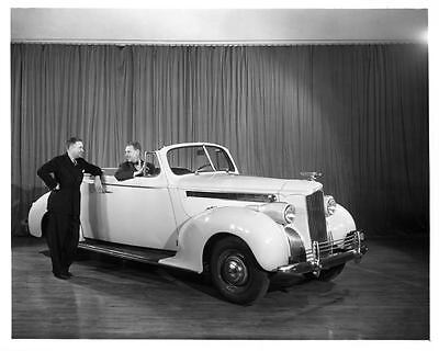 1940 Packard 110 Convertible Coupe Factory Photo ad2242-D4CSGO