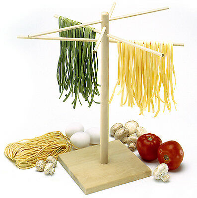 """NORPRO 1048 Deluxe 16.5"""" Pasta Drying Rack Stand With 8 Drying Arms"""
