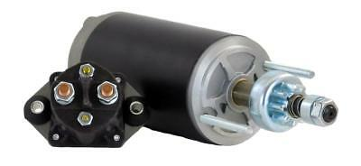New Starter Motor W/solenoid Force Marine 125Ld9 L Drive 125Hp 61-6955 A85955