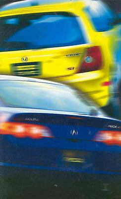 2002 Acura RSX & Honda Civic Si Press Kit CD Rom wf1482-14FU12