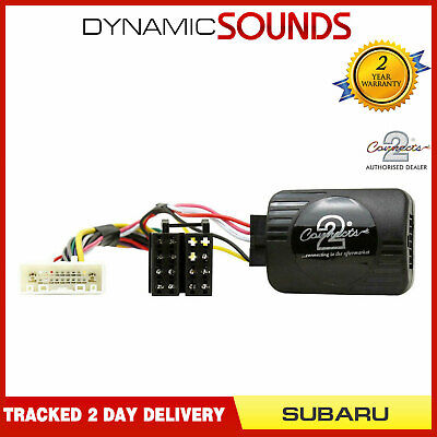 Pioneer Steering Stalk Control Adaptor Phone Button Support For Subaru Forester