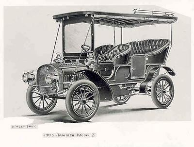 1905 Rambler Model 2 ORIGINAL Factory Photo wf6566-FFLPLC