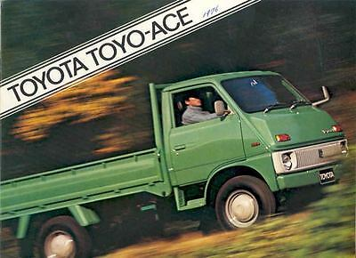 1976 Toyota Ace Pickup Sales Brochure wd3010-YL8569