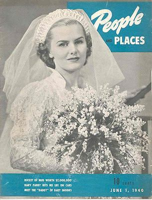 June 1940 DeSoto Plymouth People & Places Mag Diamond wd3307-EFHSNA