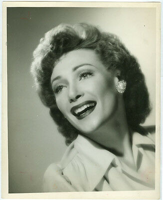BETTY BRUCE original double weight theater photo 1943 SOMETHING FOR THE BOYS