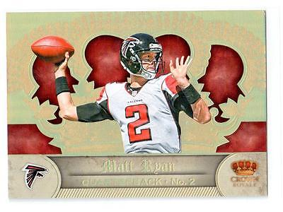2012 CROWN ROYALE GOLD UNCUT MATT RYAN SP!!!