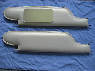 1968 chevelle SS convertible sun visors with vanity mirror parchment