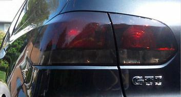 10-14 Volkswagen Gti / Golf Smoke Tail Light Precut Tint Cover Smoked Overlays
