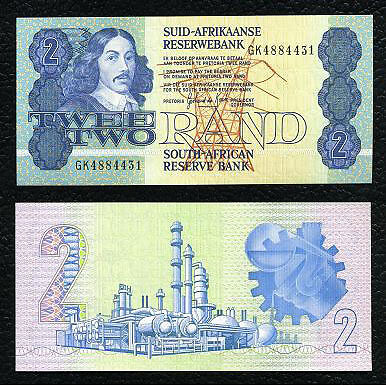 South Africa P-118c ND(1981-83) 2 Rand Crisp Uncirculated