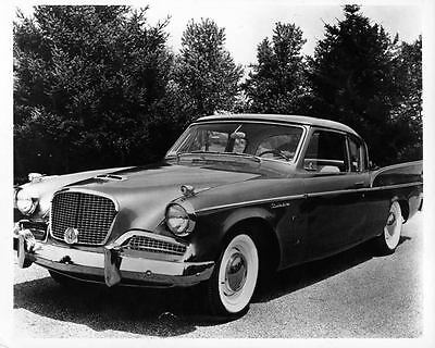 1958 Studebaker Silver Hawk Factory Photo ad2792-L49BYP