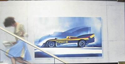 1973 Porsche 917/30 Race Car Showroom Poster mx69-TWYXLO