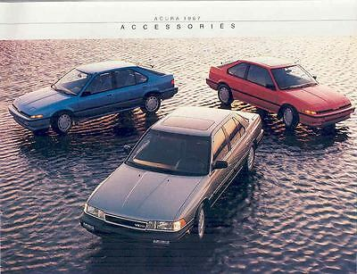 1987 Acura Integra Legend Accessories Brochure mx1595-XLNEOI