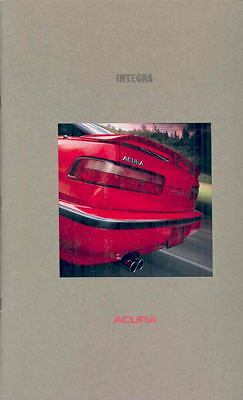 1990 Acura Integra Coupe and Sedan Prestige Brochure mx1613-TM6U6J