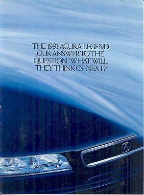1991 Acura Legend Brochure mx1614-DQ3YI6