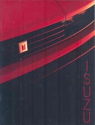 1984 Isuzu Impulse Giugiario Trooper II I-Mark Brochure mx1915-374JN2