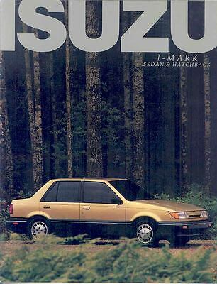 1987 Isuzu I-Mark Brochure mx2401-7U4SW9