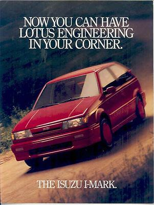 1988 Isuzu I-Mark Brochure mx2417-YTVZTV
