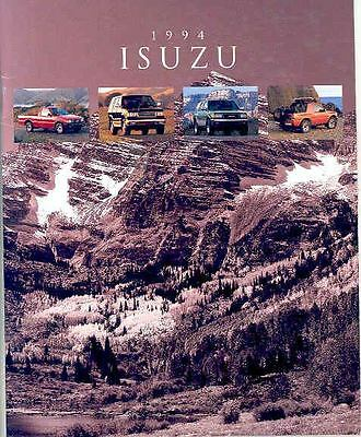 1994 Isuzu Trooper Rodeo Amigo Pickup Brochure mx2473-EBX7V9