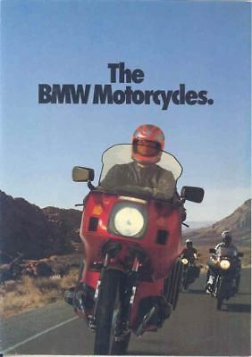 1980 BMW R100 R80 R65 1000 800 650 Motorcycle Brochure mx2750-GMFYFF