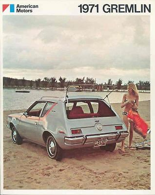 1971 AMC Gremlin Brochure Military mx3276-5FZ6W5