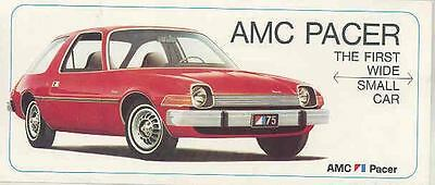 1975 AMC Pacer Brochure mx3516-TQZGGK