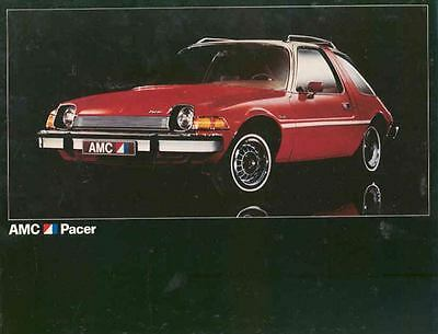 1975 AMC Pacer & Pacer X  Brochure Export Spanish mx3517-SNJMYU