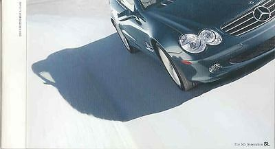 2003 Mercedes Benz SL500 Brochure mx3888-833U59