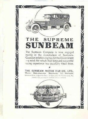 1916 Sunbeam Magazine Advertisement wa24-KEZGG9