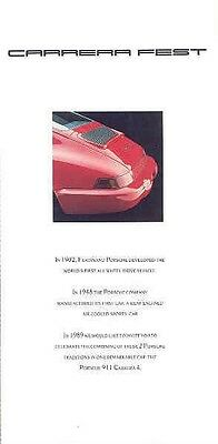 1989 Porsche 911 Carrera 4 Showroom Invitation Brochure wa8455-P5UN3I