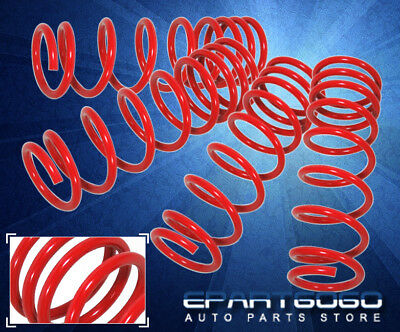 1990-1999 Toyota Celica Coil Performance Suspension Lowering Springs Kit Red