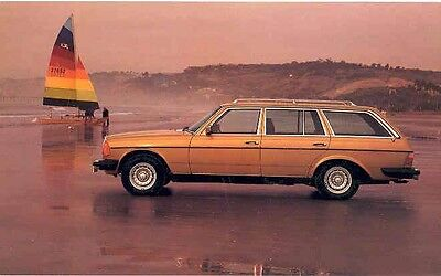 1979 Mercedes Benz 300TD Station Wagon Postcard pc569-HJYP8Z