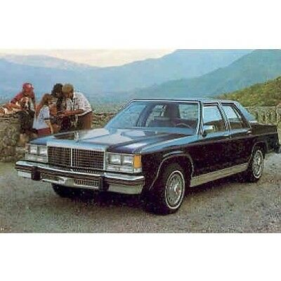 1979 Ford LTD Landau Postcard pc626-V5H3CU
