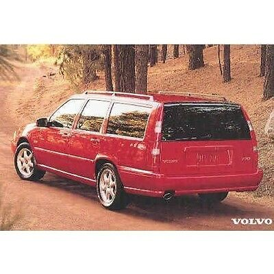 1998 Volvo V70 Station Wagon Postcard pc893-6HA444