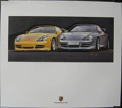 2000 Porsche 911 996 GT3 Showroom Poster  mx42-BCQVS2
