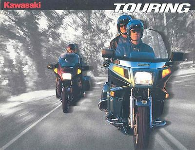 1995 Kawasaki Voyager XII 1200 Concours 1000 Motorcycle Brochure mx4864-SAOF9F