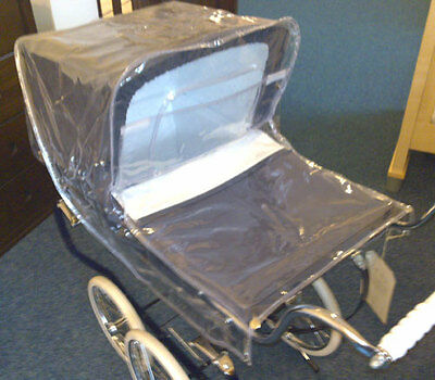Silver Cross Oberon Dolls Pram Raincover