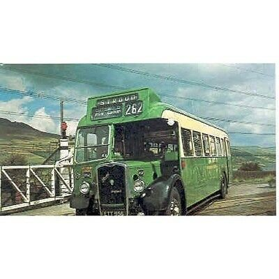 1955 Bristol L5G Bus Postcard mp5053-U4WZ3B