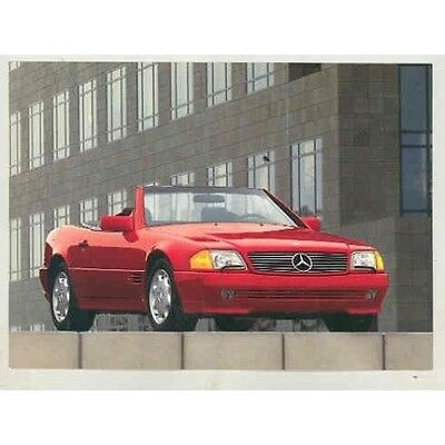 1993 Mercedes Benz 600SL 500SL 300SL Coupe Roadster Factory Postcard mx5123-PI4H