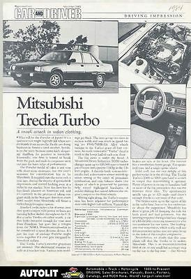1984 Mitsubishi Tredia Turbo Road Test Article Motor Trend mx5199-36INZ3