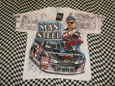 Dale Earnhardt Sr. #3 Man Of Steel T-shirt! NEW in bag! Sizes: M or 2XL! 7103