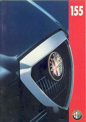 1996 Alfa Romeo 155 Sales Brochure German x235-ORQJZ7