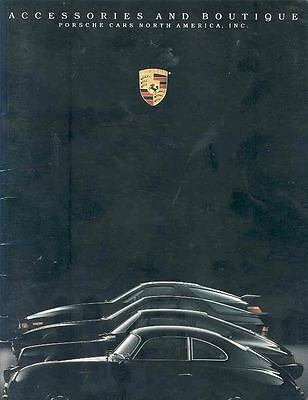 1990 Porsche Accessories Sales Brochure x6052-MTITD4