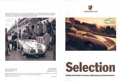 1999 Porsche Promotional Items Sales Brochure x6249-WJSGBB