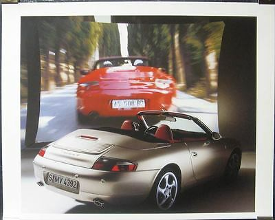 1999 Porsche 911 996 Carrera 4 Showroom Poster x8413-LBRS1S