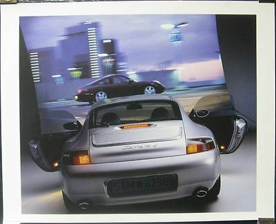 1999 Porsche 911 996 Carrera 4 Showroom Poster x8418-K8MOIC