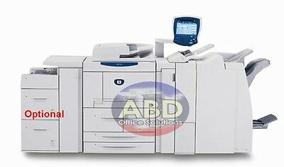 Xerox 4110 High-Speed Production Laser Printer Copier with Finisher 110ppm