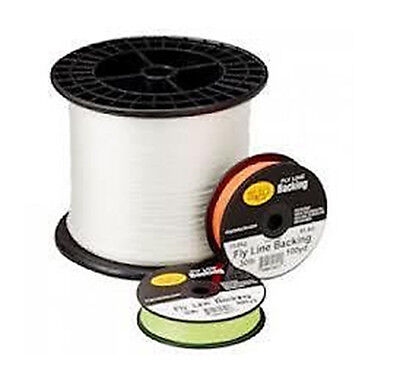 Rio DACRON Fly Line Backing, 30 lb Test, CHARTREUSE - 100 to 5000 Yd Spools