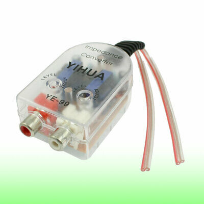 Adjustable Level Speaker to RCA Line High to Low Car Impedance Converter