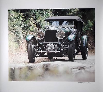 1930 4.5 Litre Blower Bentley Print Poster p2603-2VL8TI