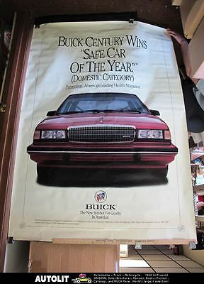 1990's Buick Century Safe Car of the Year Poster p2820-T13QRU